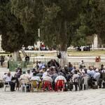 Muslimische Pilgergruppe